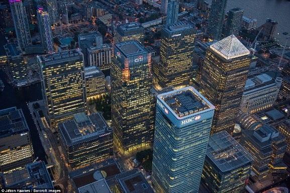Những bức ảnh tuyệt đẹp chụp London từ trên cao - 5