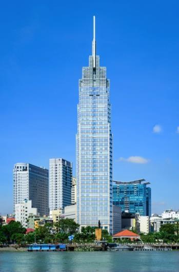 Tòa nhà Vietcombank Tower sử dụng sản phẩm vách nhôm kính lớn Eurowindow