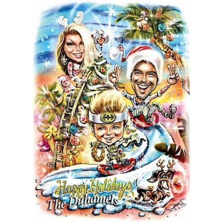 """Tấm thiệp Giáng sinh quá đỗi tinh nghịch của Fergie và Josh Duhamel chắc chắn sẽ khiến các fan hâm mộ phải """"phát cuồng"""""""