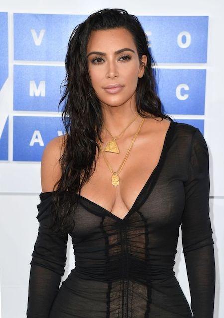 Kim Kardashian…