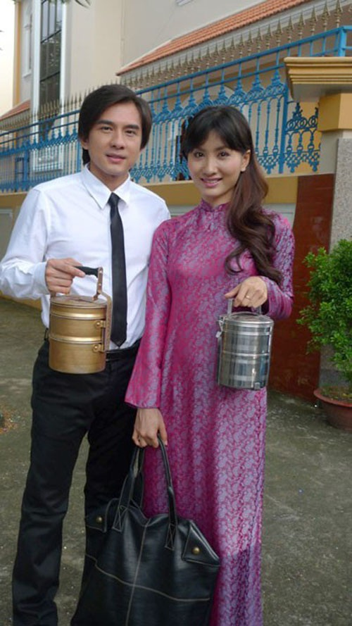 Ca sĩ Đan Trường và diễn viên Nguyệt Ánh có một mối tình đẹp trong phim