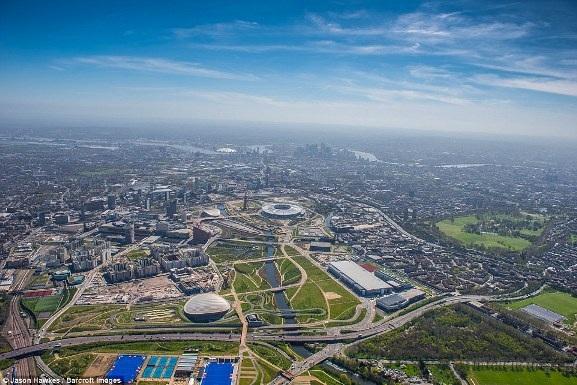 Những bức ảnh tuyệt đẹp chụp London từ trên cao - 6