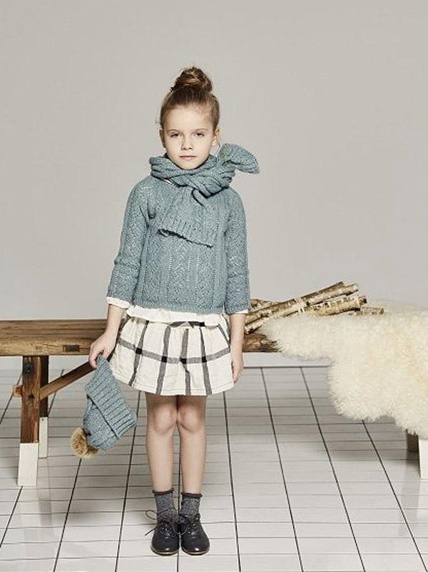 Gợi ý những bộ đồ mùa đông cực chất dành cho bé gái - 5