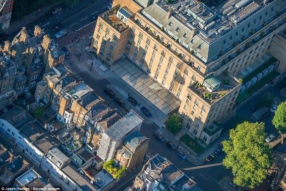 Những bức ảnh tuyệt đẹp chụp London từ trên cao - 7