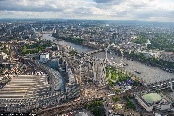 Những bức ảnh tuyệt đẹp chụp London từ trên cao - 8