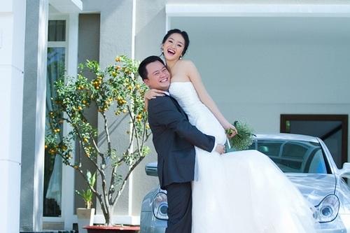 Phan Thị Lý và doanh nhân Quang Trung