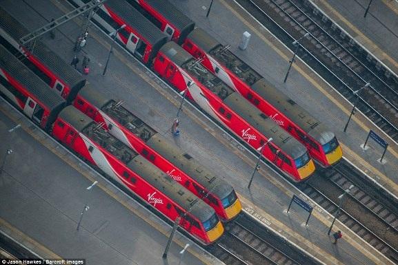 Những bức ảnh tuyệt đẹp chụp London từ trên cao - 9