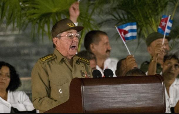 Chủ tịch Cuba Raul Castro. (Ảnh: Reuters)