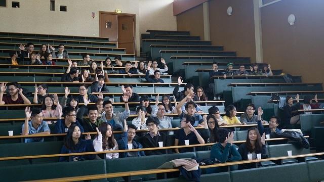 Đại hội sinh viên 2016 thành phố Rennes, Pháp - 2