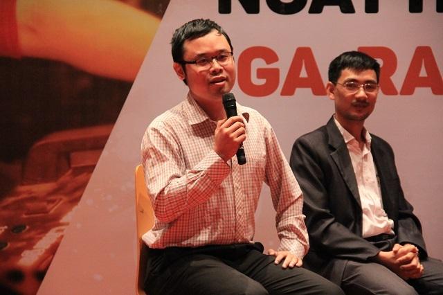 Anh Trần Vũ Tuấn Phan, Giám đốc Trung tâm ươm tạo công nghệ và doanh nghiệp khoa học công nghệ, Viện Ứng dụng Công nghệ, Bộ KHCN.