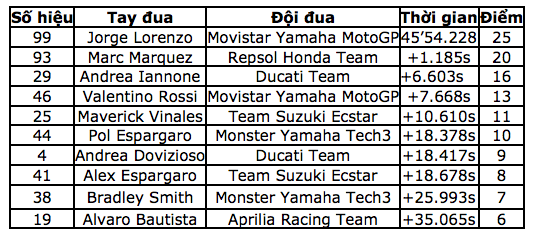 Jorge Lorenzo chiến thắng trong ngày chia tay Yamaha - 14