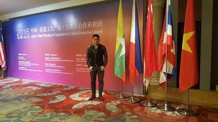 Minh Tiệp sánh vai hoa hậu Lào dự hội thảo phim Châu Á - 4