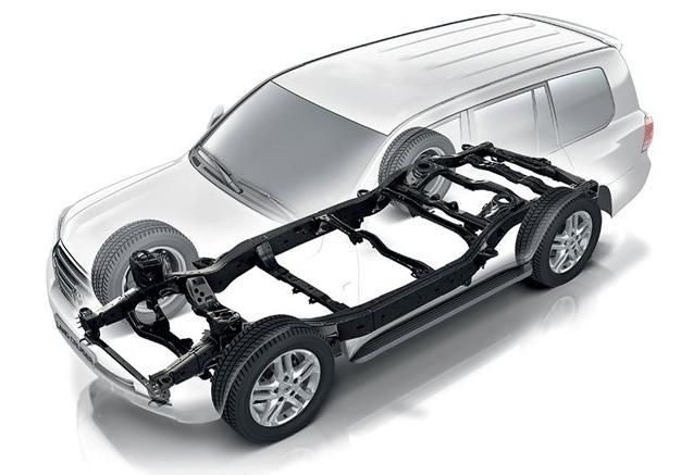 Kết cấu khung rời của dòng SUV