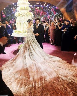 Tài phiệt Nga vung tiền làm đám cưới xa hoa tiễn con gái xuất giá - 1