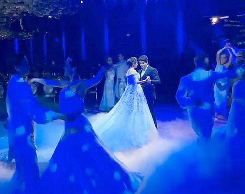 Tài phiệt Nga vung tiền làm đám cưới xa hoa tiễn con gái xuất giá - 6