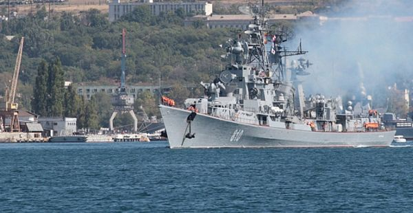 Chiêm ngưỡng loạt tàu chiến Nga tham gia tiêu diệt IS ở Syria - 8