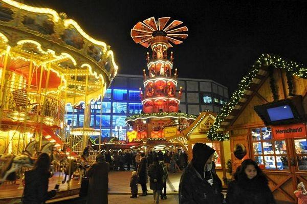 Hội chợ Giáng Sinh Berlin hôm qua, hôm nay… - 1