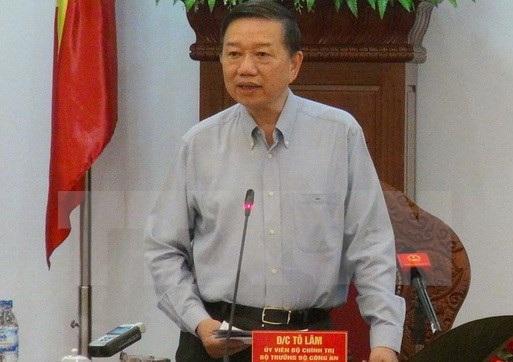 Bộ trưởng Công an Tô Lâm nói về xu hướng diễn biến của tội phạm trọng năm 2016.