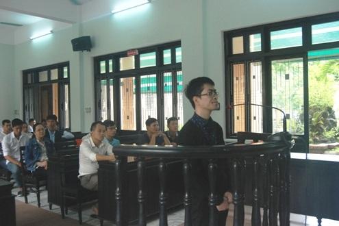 Bị cáo Vũ Việt Dũng tại phiên tòa