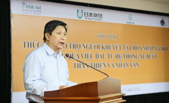 Phó Giám đốc Sở GTVT TP Lê Hoàng Minh
