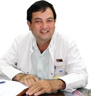 PGS.TS Nguyễn Hoài Nam, chủ tịch Hội Tĩnh Mạch TPHCM