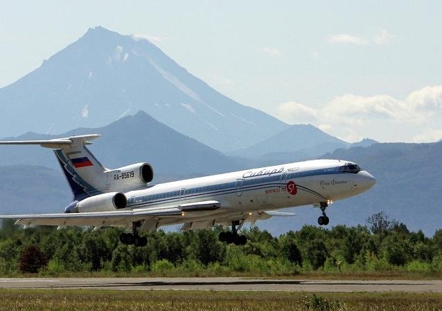 Một chiếc Tu-154 (Ảnh: Sputnik)