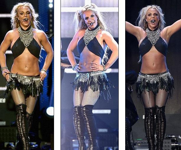 Những động tác vũ đạo gợi cảm luôn là lợi thế của Britney Spears