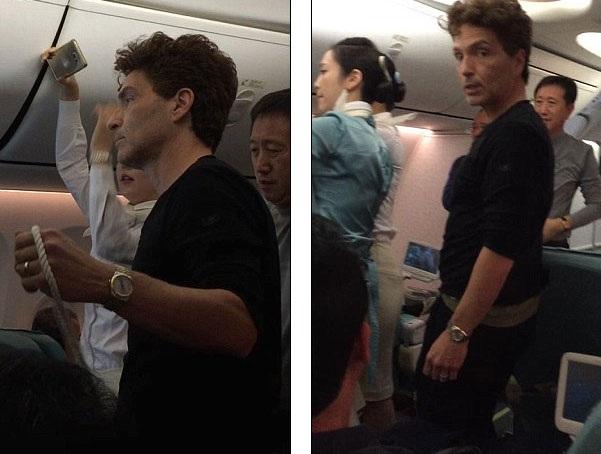 """Richard Marx được gọi là """"anh hùng"""" khi khống chế hành khách gây gổ trên máy bay - 4"""