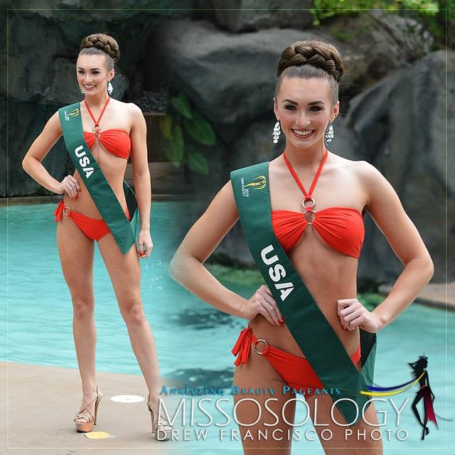 Hoa hậu Mỹ lọt top 4 thí sinh sáng giá nhất của Missosology tại cuộc thi Hoa hạu Trái đất 2016.