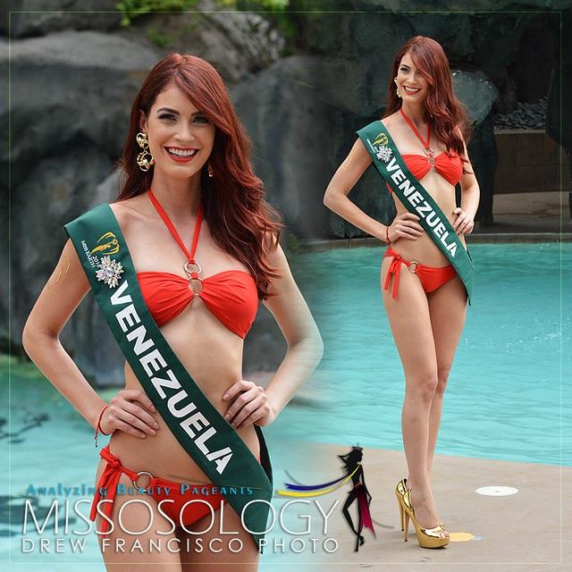 Hoa hậu Venezuela là thí sinh được Missosology đánh giá cao nhất trước đêm chung kết Hoa hậu trái đất 2016.
