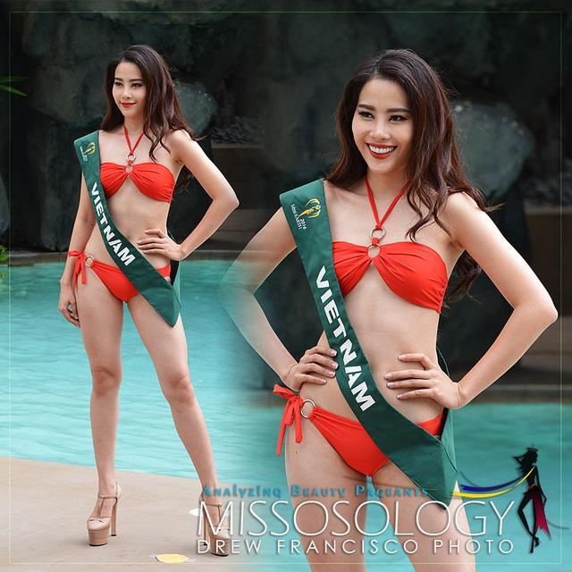 Nam Em của Việt Nam cũng được Missosology đánh giá lọt top 10 của Hoa hậu trái đất 2016