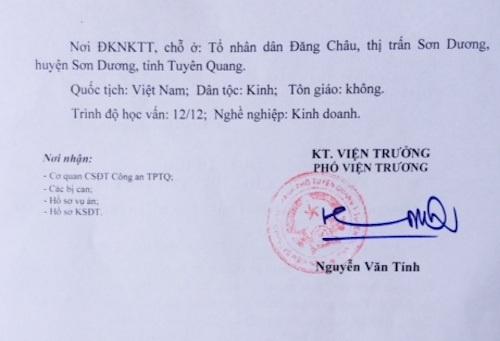 Đình chỉ vụ án liên tục bị kêu oan, VKSND Tối cao từng vào cuộc điều tra tố cáo bức cung.