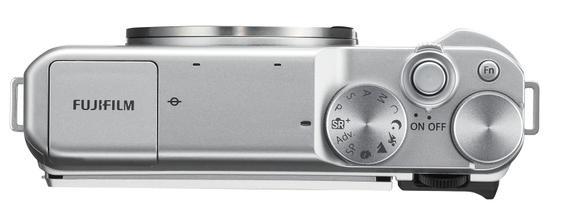 Hệ thống điều khiển của máy ảnh Fujifilm X-A10.