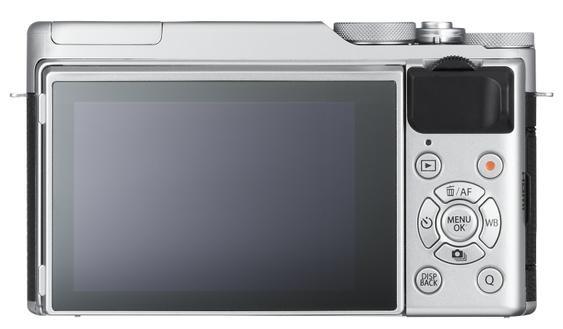 Màn hình có thể xoay 180 độ và tự khởi động chế độ chụp ảnh selfie.