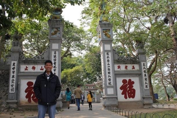Trần Văn Hoàng - đồng sáng lập phần mềm Xpeak dạy tiếng Anh thông minh cho người Việt.