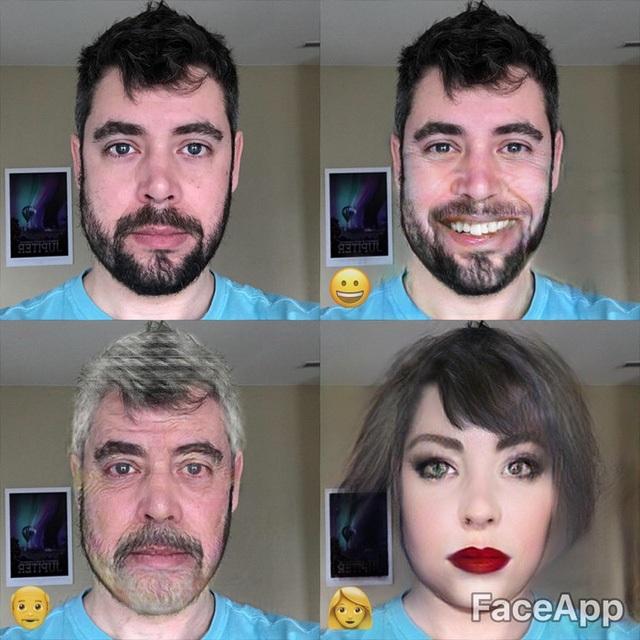Cười bò với ứng dụng sửa ảnh giúp bạn biến đổi giới tính trong nháy mắt - 2