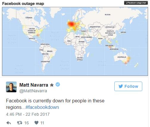Facebook và YouTube gặp sự cố khiến người dùng không thể truy cập - 2