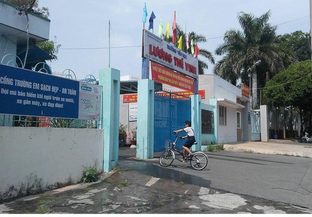 Trường tiểu học Lương Thế Vinh, quận Thủ Đức, TPHCM.