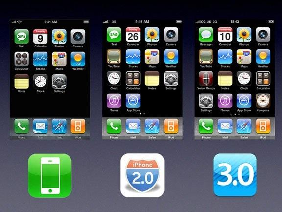 """Nhìn lại sự phát triển của iOS từ những ngày """"sơ khai"""" - 2"""