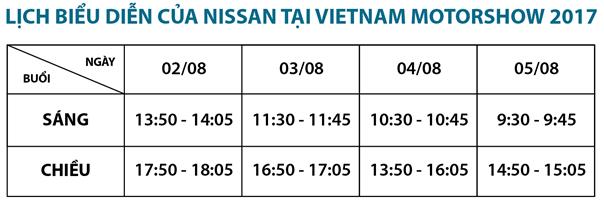 Diện mạo hoàn toàn mới của Nissan tại Vietnam Motor Show 2017 - 3