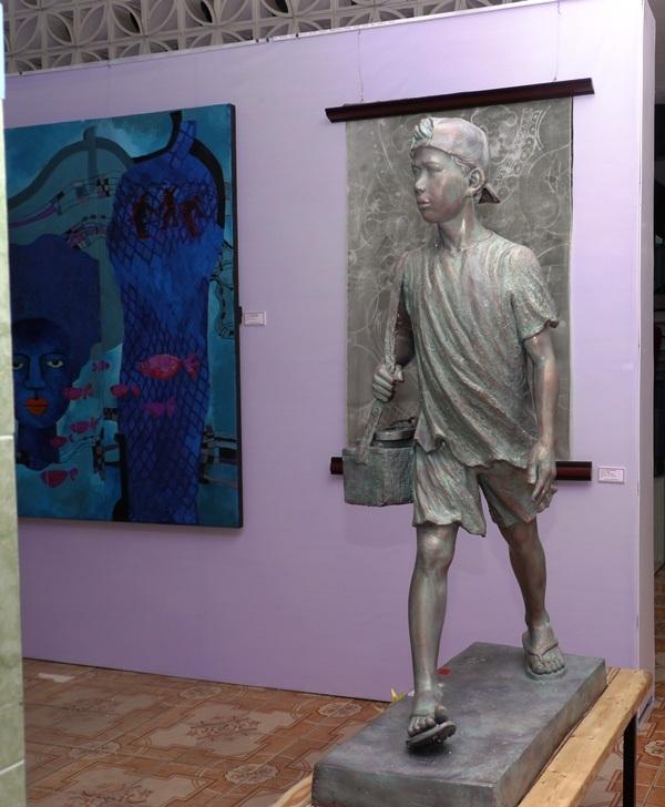 Những tác phẩm chất lượng được trưng bày tại triển lãm.