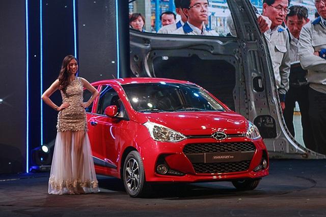 Hyundai Grand i10 vừa được lắp ráp trong nước từ tháng 7/2017 tại nhà máy tại Ninh Bình