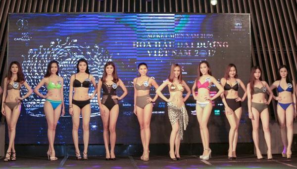 Các ứng viên Hoa hậu Đại Dương 2017.