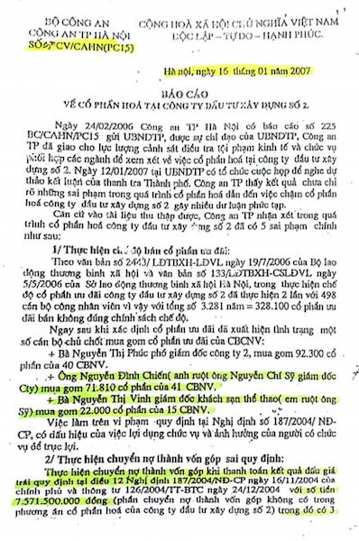 """Vụ cổ phần hóa HACINCO: Sai phạm đã """"rõ như ban ngày""""! - 6"""