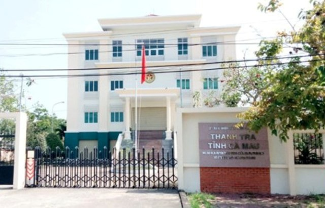 Thanh tra Nhà nước tỉnh Cà Mau, nơi 2 cán bộ bị kỷ luật liên quan đến vụ lộ nguồn câu hỏi thi công chức vào tháng 5/2017.