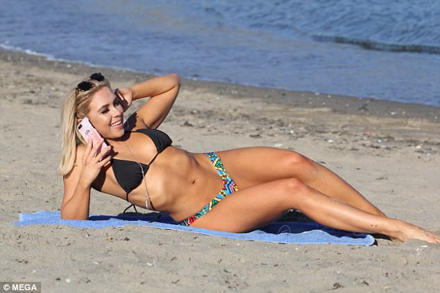Gabby Allen tận hưởng kỳ nghỉ tại Marbella, Tây Ban Nha ngày 2/12 vừa qua