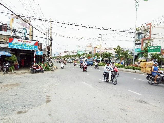 Đoạn đường xảy ra vụ tai nạn.