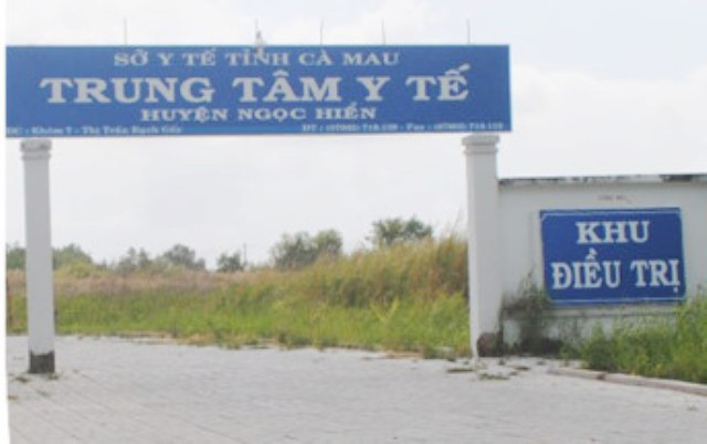 Trung tâm Y tế huyện Ngọc Hiển, nơi lãnh đạo bị tố ưu ái bổ nhiệm người nhà.