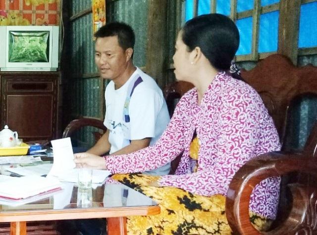 Gia đình ông Nguyễn Văn Út trình bày với PV Dân trí.