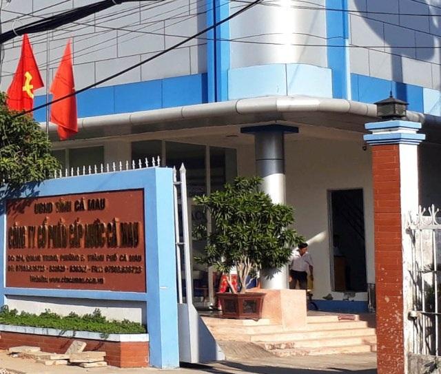 Công ty Cấp nước Cà Mau, nơi có hơn trăm công nhân bị chấm dứt hợp đồng lao động sai quy định.